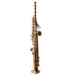 Sax Brancher Soprano Gold Lacquer