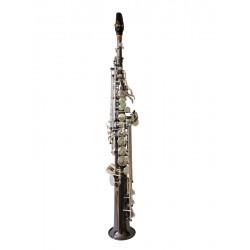Sax Brancher Soprano Black Silver SBS