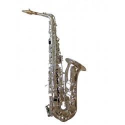 Brancher Sax Alto Silver Plated - ASI