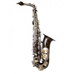 Sax Brancher Alto Black Silver ABS